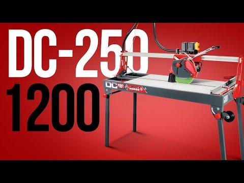 Cortadora Eléctrica RUBI DC- 250 1200