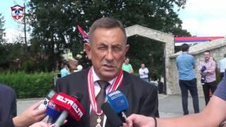 Милован Бјелица - Обраћање поводом Дана и Крсне славе општине Соколац (2.8.2016.)