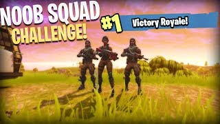 THEY THOUGHT I WAS A NOOB.. NO SKINS CHALLENGE! - Fortnite: Battle Royale 24 KILL SQUADS WIN