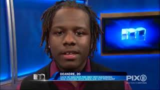 """I'm only 17...you should have kept """"your pickle"""" in your pants!   The Maury Show"""