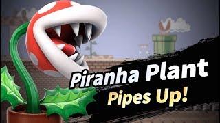 Super Smash Bros. Ultimate Piranha Plant Fighter Reveal Trailer