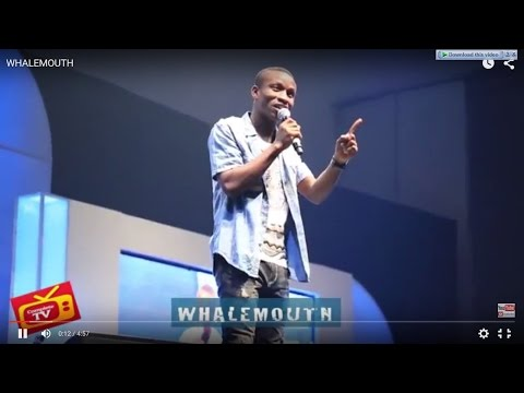 Video (stand-up): Whalemouth Performing at Seyi law's 'Fast and Funny' Show (part 1)