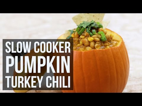 Slow Oven Pumpkin Chili With Bulgur