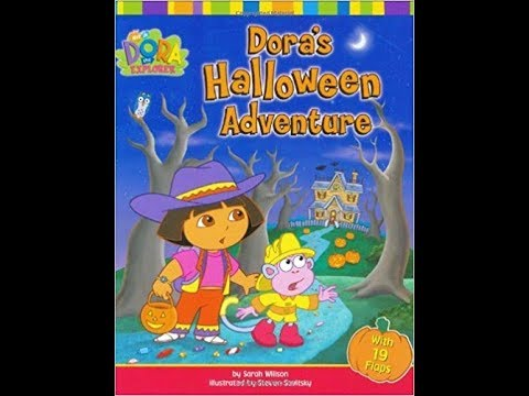 Halloween Adventure.Dora The Explorer Dora S Halloween Adventure Book