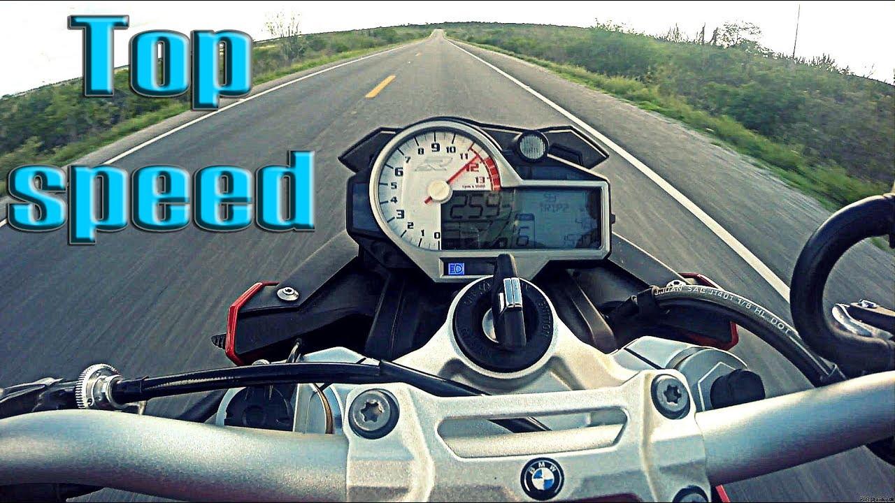 Top Speed BMW S1000R (TODA ORIGINAL) - YouTube