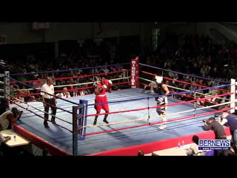 Jashaun Thomas vs Jose Israel Flores At Fight Night 15, Feb 2 2013