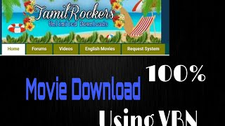 Tamilrockers | Movie Download | Using | VPN