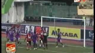 Persik Kediri vs Persipura 1 0 Piala Indonesia 2010