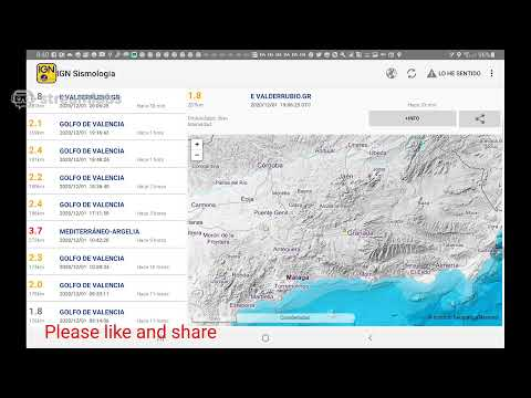 🔴#Torrevieja #earthquake #Europe  #Spain Updates #live Swam Starts Again