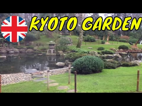 Holland Park Tour 2017 To Kyoto Garden In UK London City Break Vacation 2017