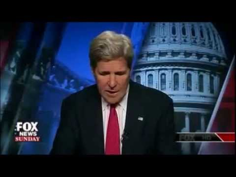 John Kerry Criticizes Israeli Operation in Gaza - July 20, 2014 (open mic)