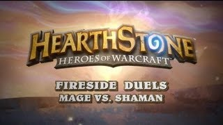 Mage vs Shaman - Hearthstone: Heroes of Warcraft - Gameplay (PC)