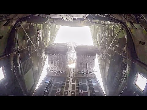 Resupply Drop From The Sky – Marine Aerial Refueler Transport Squadron