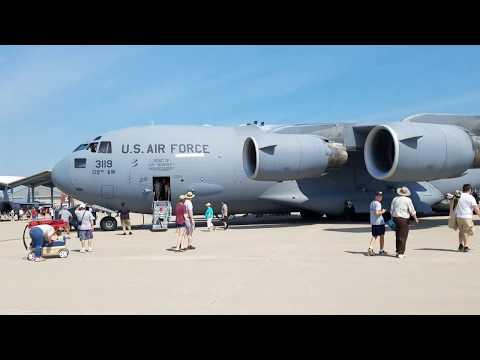 AIR SHOW SELFRIDGE AIR NATIONAL GUARD BASE, MICHIGAN 2017