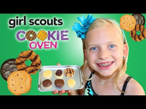 Cute Mini Cookies || Baking Cookies in the Girl Scout Cookie Oven