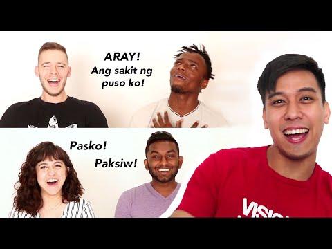 INTERNATIONALS SPEAKING FILIPINO (TAGALOG) | LuisYoutube