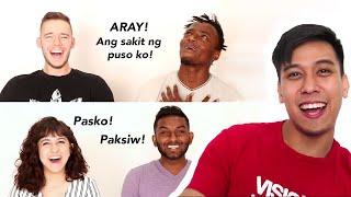 AMERICANS SPEAKING FILIPINO (TAGALOG) Part 2 | LuisYoutube
