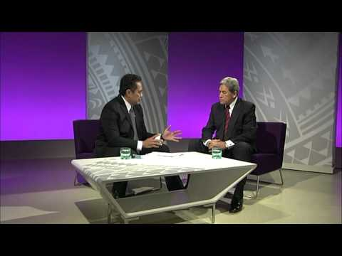 Studio interview with New Zealand First Party leader the Rt Hon Winston Peters