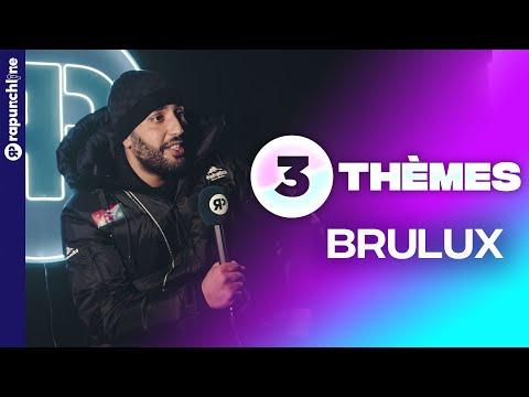 Youtube: Brulux parle des réseaux sociaux, de la productivité et de l'affaire Young Thug – 3 Thèmes