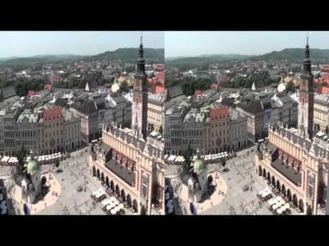 Kraków w 3DHD - Wieża Mariacka