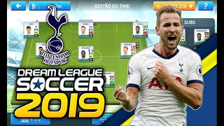 SAIU! Time do Tottenham para temporada 2019/2020 no Dream League Soccer 2019
