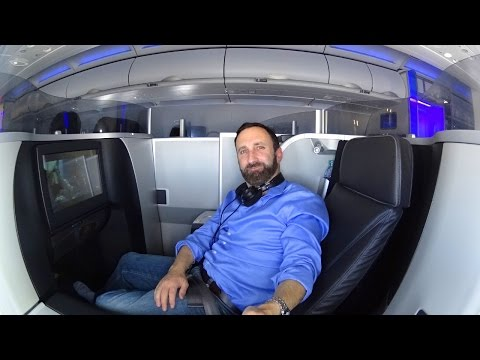 JetBlue Mint Business Class seat tour in 4K