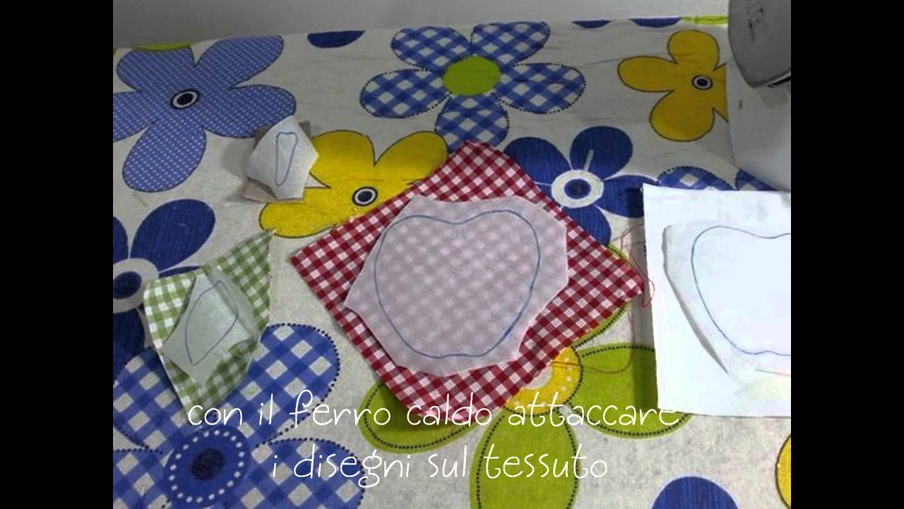 Come stampare un applique su carta termoadesiva heat n bond
