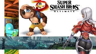 Possible Banjo and Kazooie hint and New Elma news for Super Smash Bros Ultimate