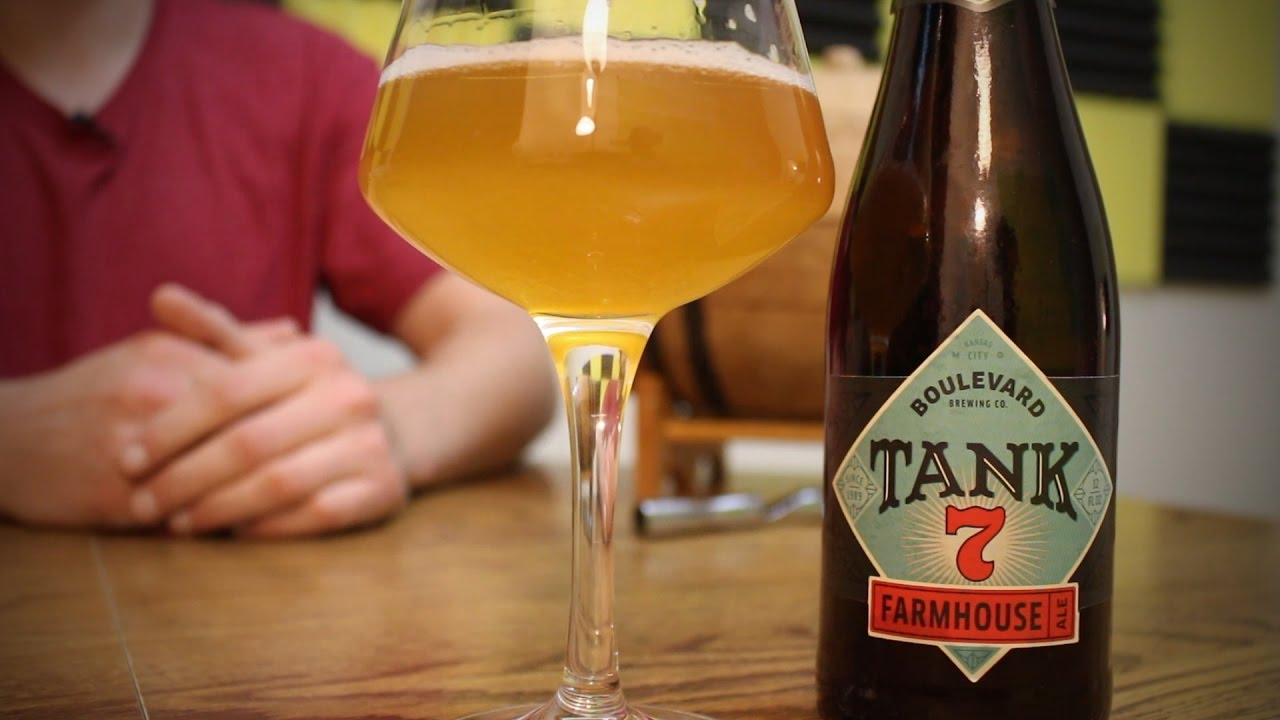Tank 7 Farmhouse Ale By Boulevard Brewing Craft Beer