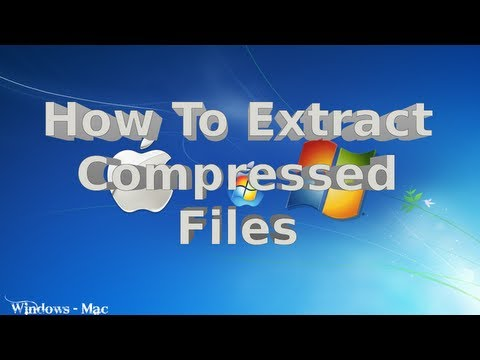How to use winrar to extract tutorial from YouTube · Duration:  5 minutes 9 seconds