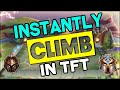 9 Useful Tips to INSTANTLY Climb in TFT | Teamfight Tactics