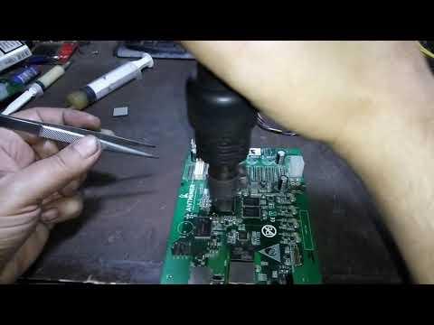 Antminer s9 - Ремонт контрольной платы, замена процессора! Не видит sd карту - брак ?