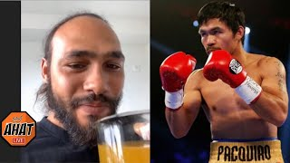 Keith Thurman on Manny Paquiao fight: I believe I gave up, I'm salty