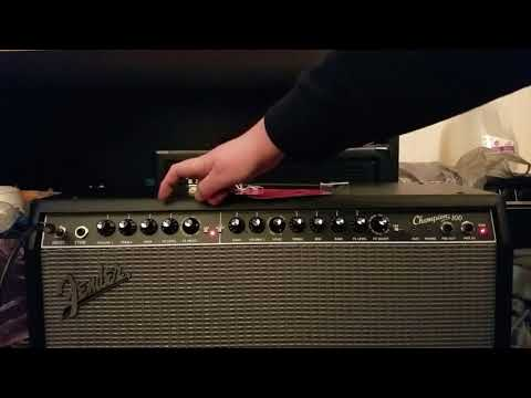 Fender Champion 100 Solid state 2X12 combo amp