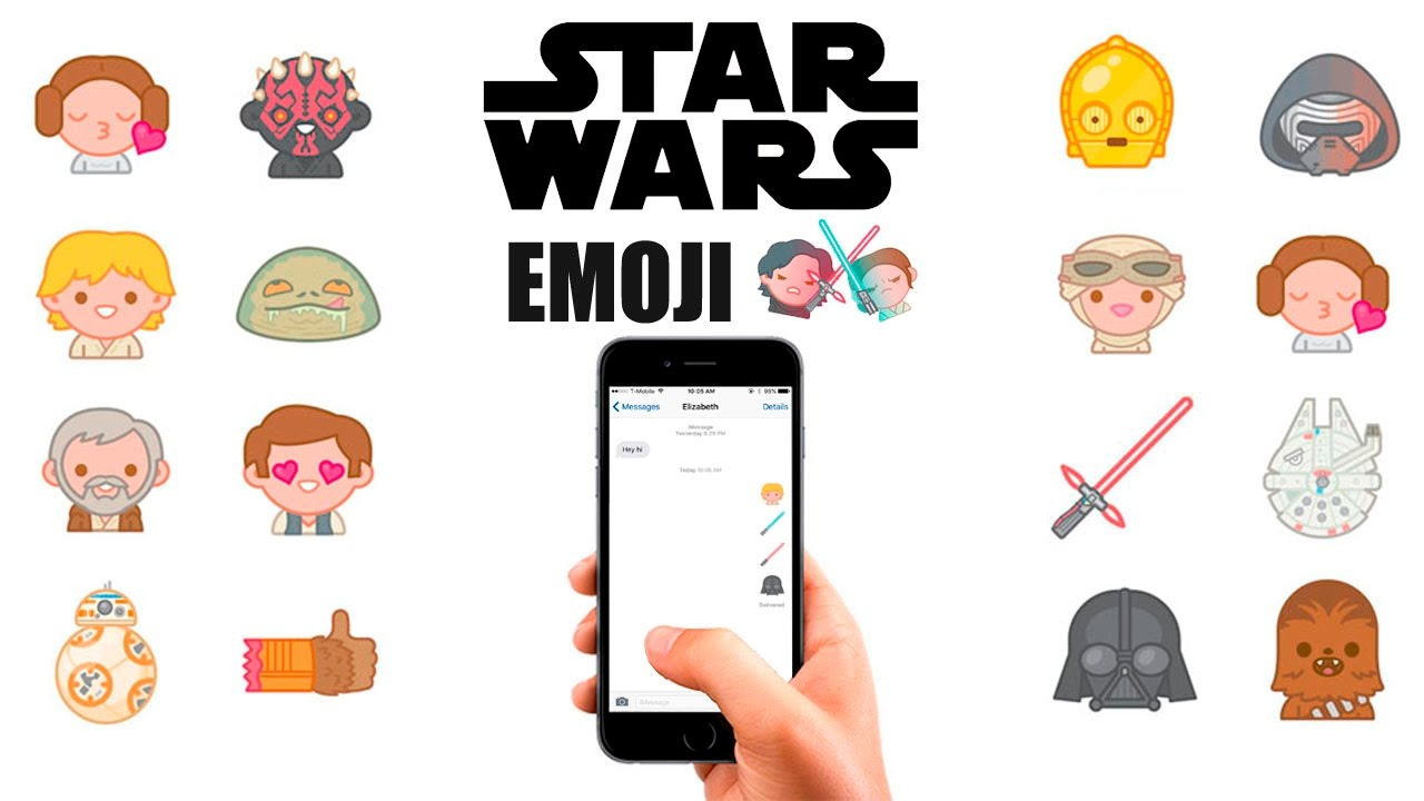 Star Wars Emoji Keyboard for iOS & Android | Download Emoji