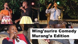 Jeff Kuria In Murang'a| Wingaurire Comedy Show|
