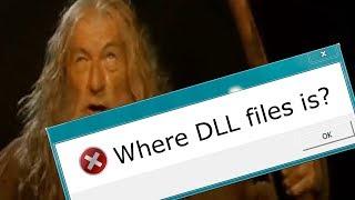 Отсутствует Dll библиотека