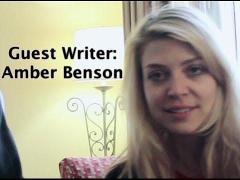 Writers on their Writing Process  Ep 1  Amber Benson