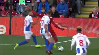 Liverpool vs Brighton 1 0 GOALS and HIGHLIGHTS