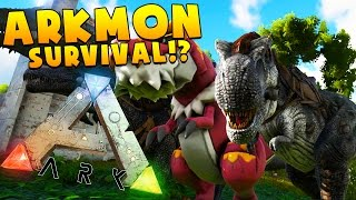 EPIC SPINO V. REX, WHO IS STRONGER? - MEGA FIGHT TO THE DEATH- MODDED ARK SURVIVAL EVOLVED (ARKMON)