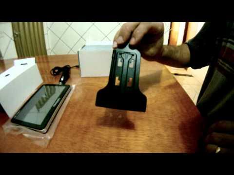 "Unboxing - GPS Aquarius Discovery Channel 7.0"" com TV Digital"
