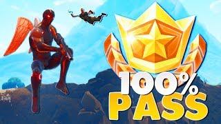 ACHETER CHAQUE SEASON 4 BATTLE PASS TIER (fr) Fortnite: Bataille Royale
