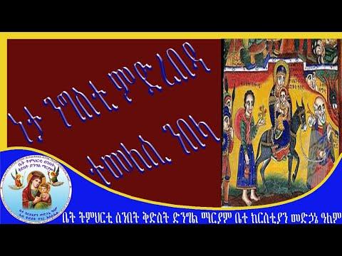 ተመለሲ ንበላ ነታ ንግስቲ ምድረበዳ Eritrean Orthodox Tewahdo Church 2020