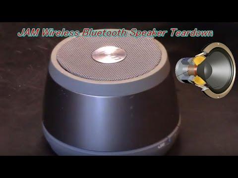 JAM Wireless Bluetooth Speaker Teardown