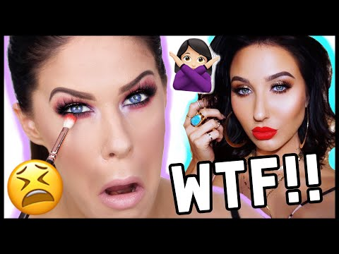 I TRIED FOLLOWING A JACLYN HILL MAKEUP TUTORIAL....AND IT WAS A HOT CAKEY MESS!!!! thumbnail