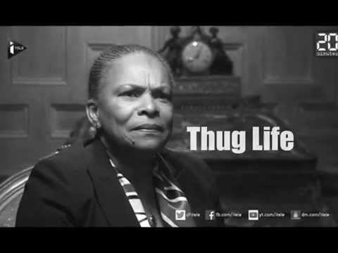 Taubira «tchip» le FN - THUG LIFE VERSION