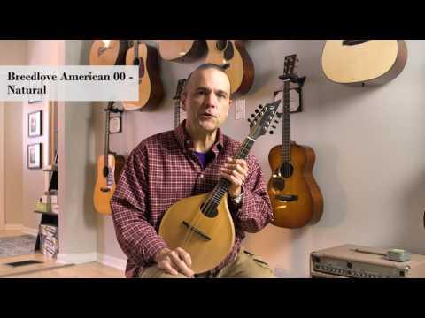 Breedlove American 00 Mandolin - Natural