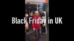 Blackfriday - US vs. Finland vs. UK