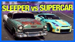 Need for Speed Payback : SLEEPER vs SUPERCAR!!