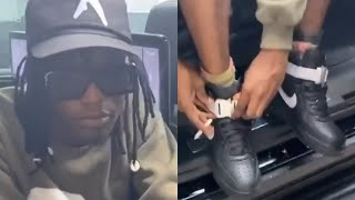 Ian Connor Spotted In ALYX x NIKE Air Force 1 Highs